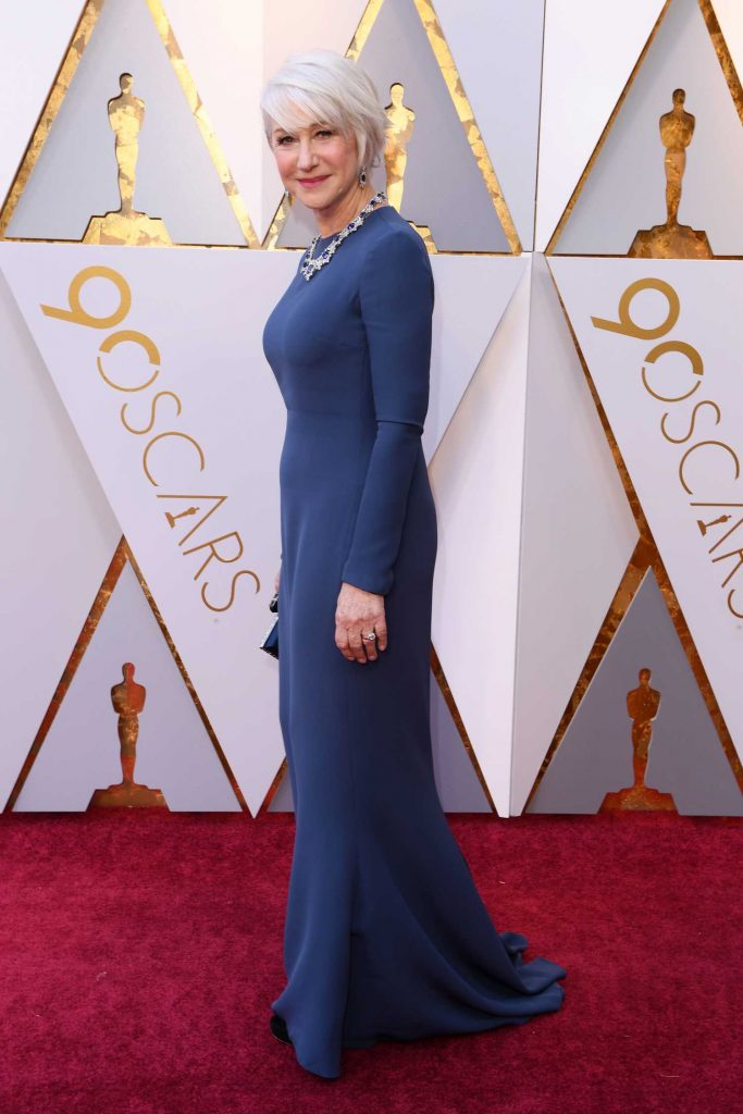Helen Mirren at the 90th Annual Academy Awards in Los Angeles-2