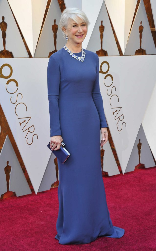 Helen Mirren at the 90th Annual Academy Awards in Los Angeles-3