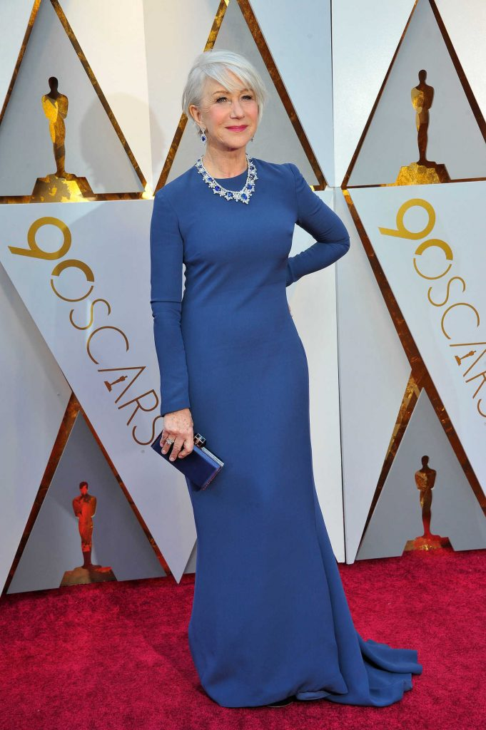 Helen Mirren at the 90th Annual Academy Awards in Los Angeles-4