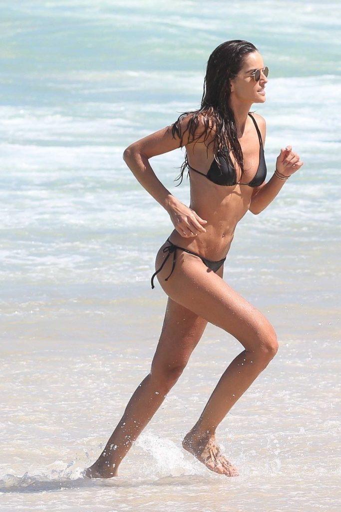 Izabel Goulart in Bikini on the Beach in Rio de Janeiro-2