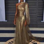 Jasmine Tookes at 2018 Vanity Fair Oscar Party in Beverly Hills