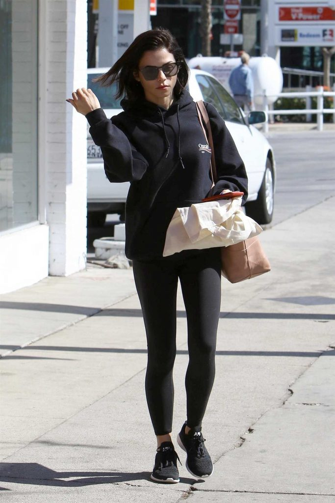 Jenna Dewan Goes Out for a Massage in Studio City-3