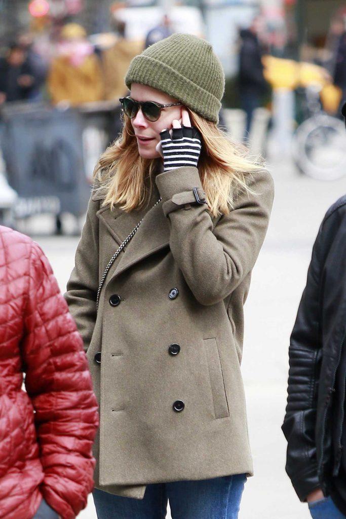Kate Mara Takes a Stroll in SoHo, New York-5