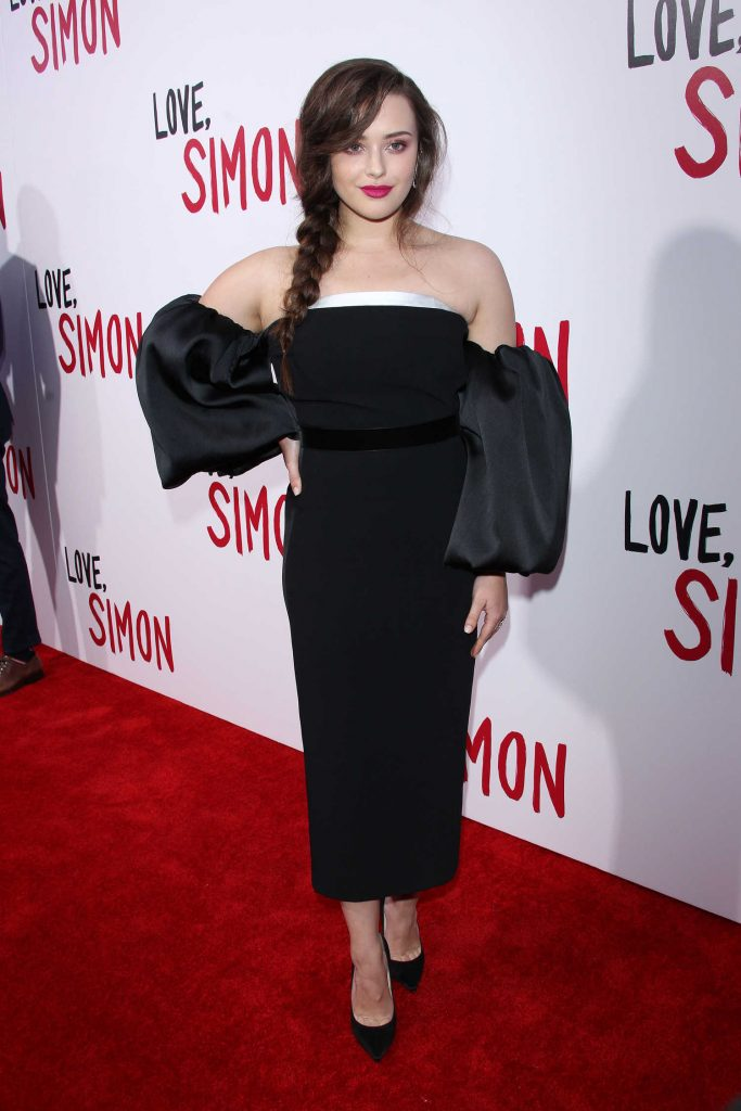 Katherine Langford at the Love, Simon Premiere in LA-1