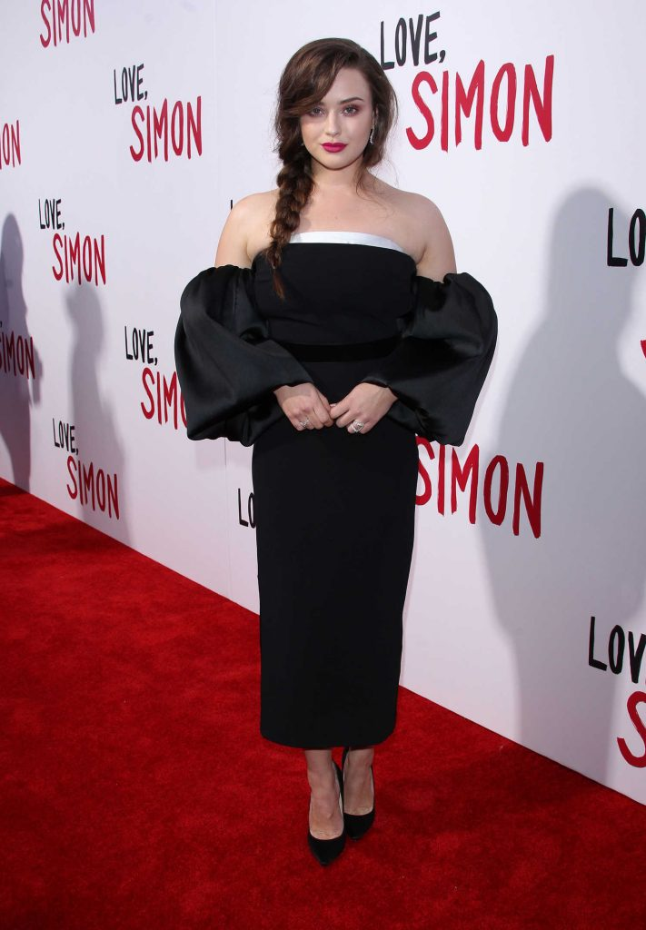 Katherine Langford at the Love, Simon Premiere in LA-2