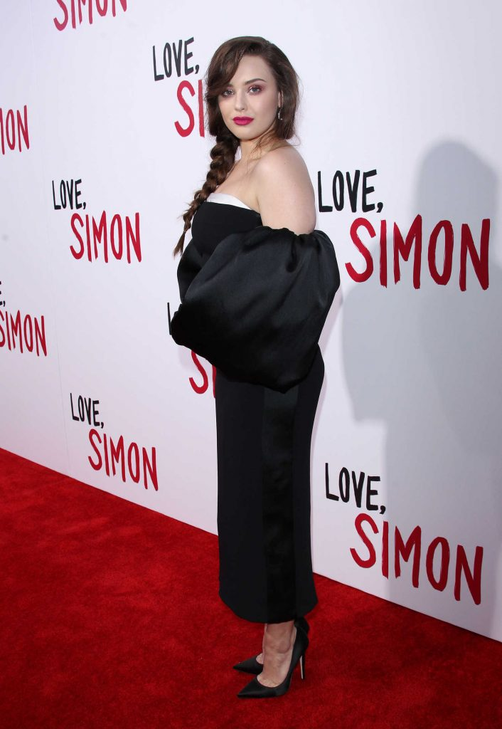 Katherine Langford at the Love, Simon Premiere in LA-4