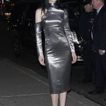 Krysten Ritter Arrives at The Late Show with Stephen Colbert in New York