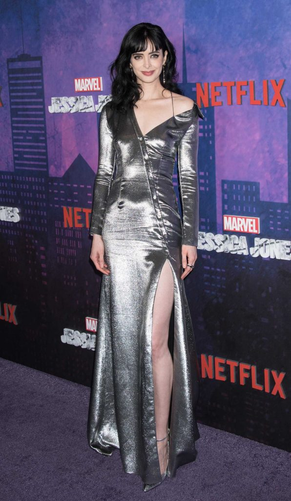 Krysten ritter at the marvel s jessica jones tv show for Tv shows to see in new york