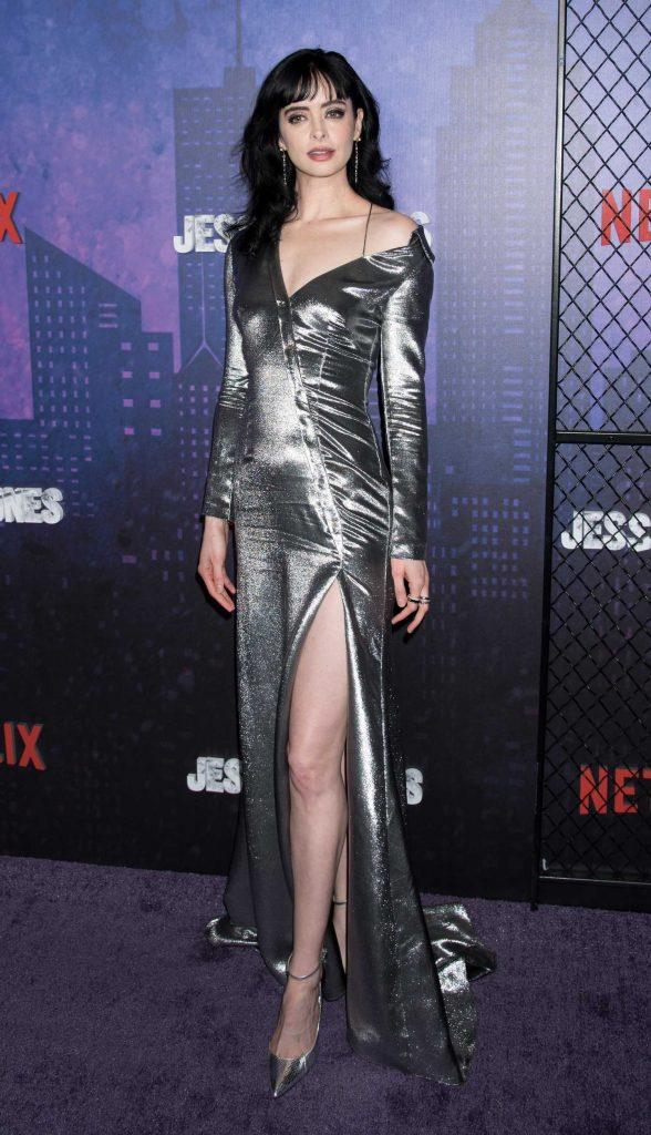 Krysten Ritter at the Marvel's Jessica Jones TV Show Season 2 Premiere in New York-2