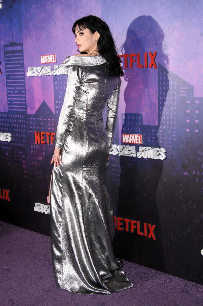 Krysten Ritter at the Marvel's Jessica Jones TV Show Season 2 Premiere in New York-4