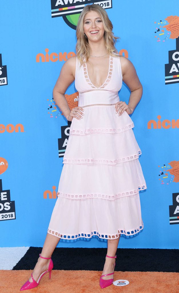 Lexi DiBenedetto at 2018 Nickelodeon Kids' Choice Awards in Los Angeles-1