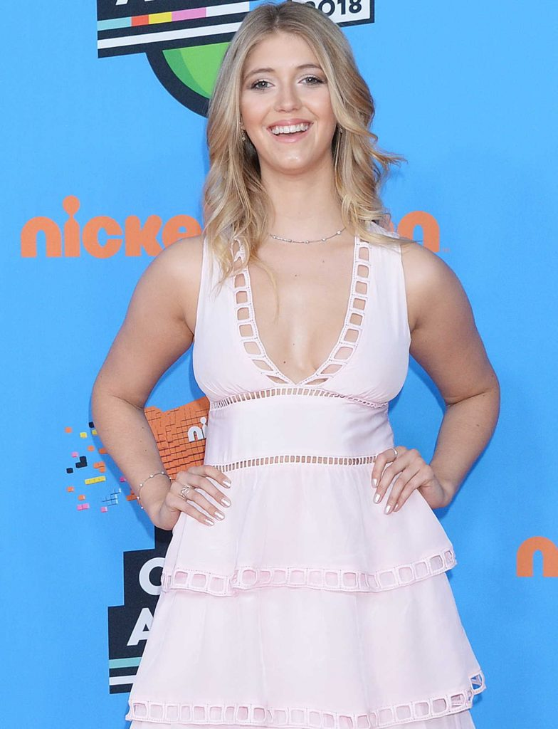 Lexi DiBenedetto at 2018 Nickelodeon Kids' Choice Awards in Los Angeles-2