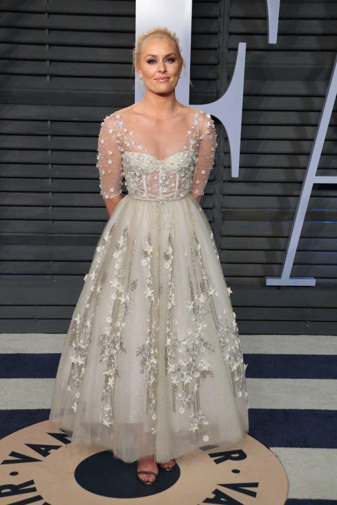 Lindsey Vonn at 2018 Vanity Fair Oscar Party in Beverly Hills-2