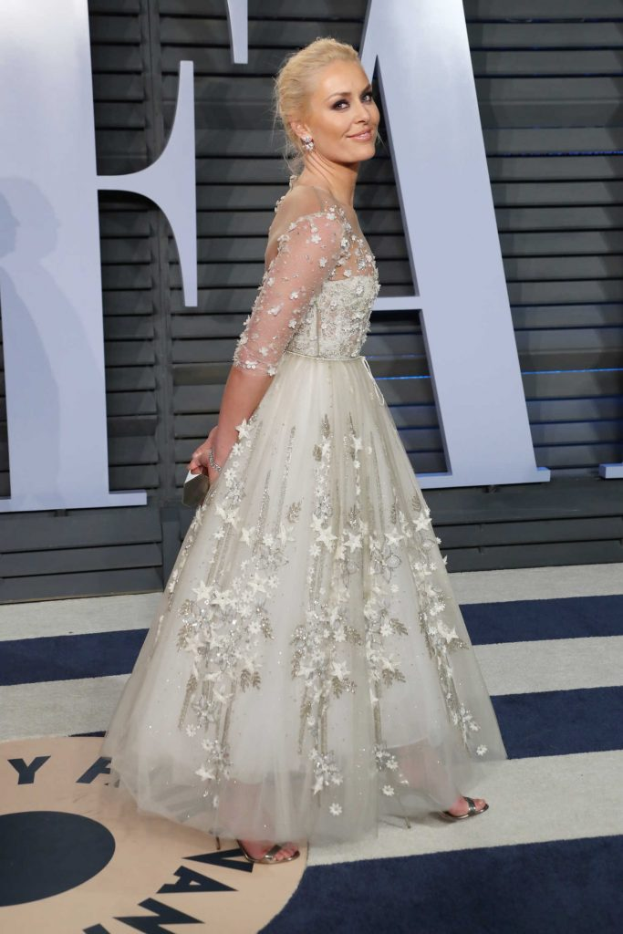 Lindsey Vonn at 2018 Vanity Fair Oscar Party in Beverly Hills-3
