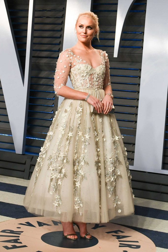 Lindsey Vonn at 2018 Vanity Fair Oscar Party in Beverly Hills-4