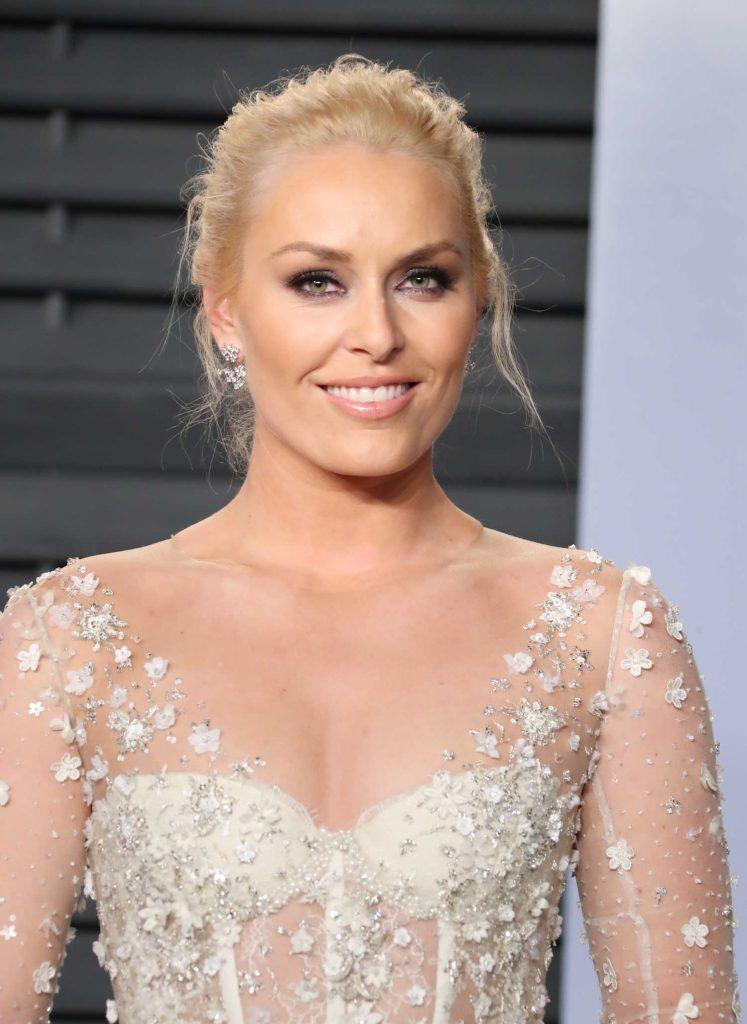 Lindsey Vonn at 2018 Vanity Fair Oscar Party in Beverly Hills-5