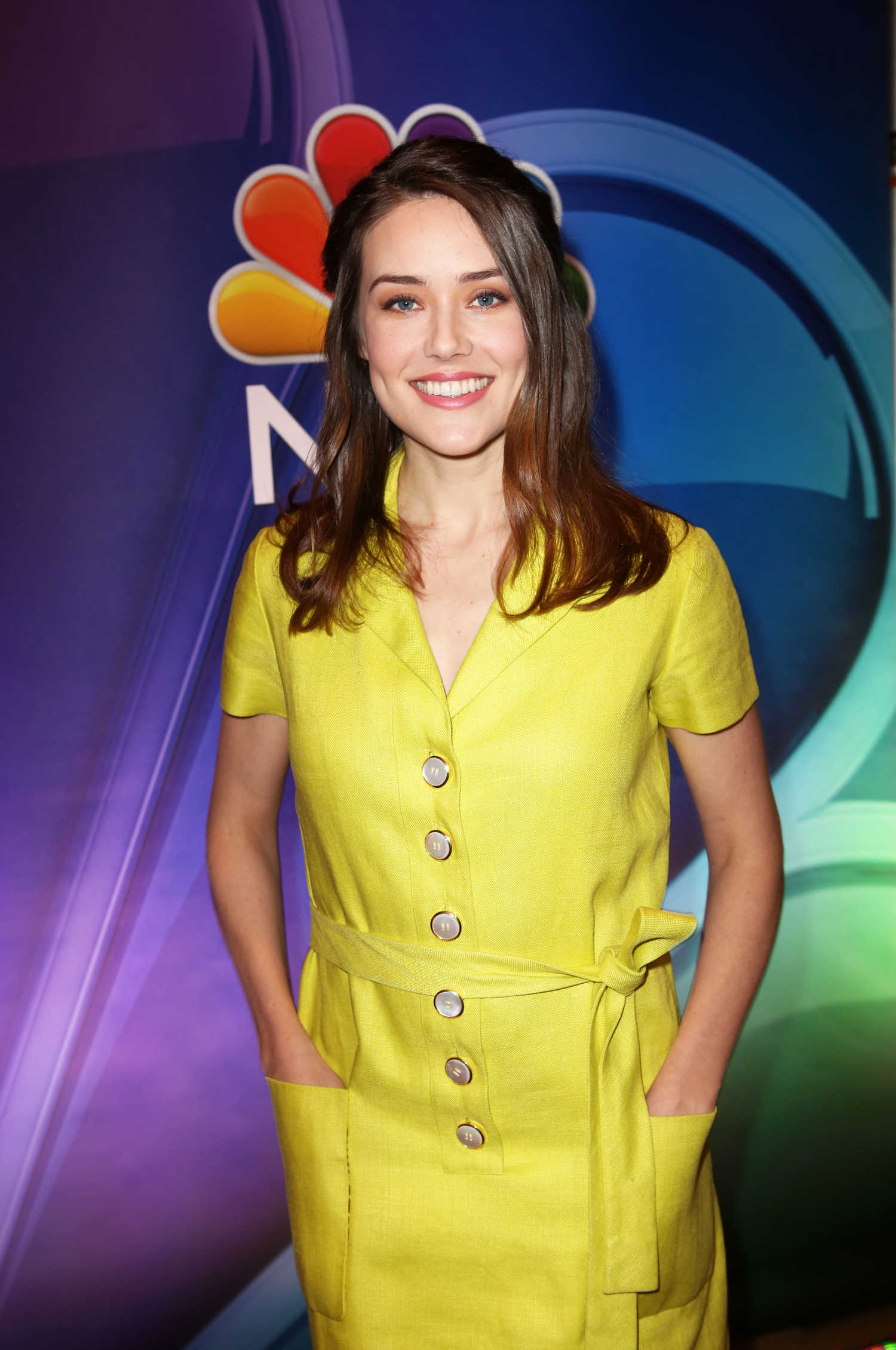 Megan Boone At 2018 Nbc Ny Midseason Press Junket In New