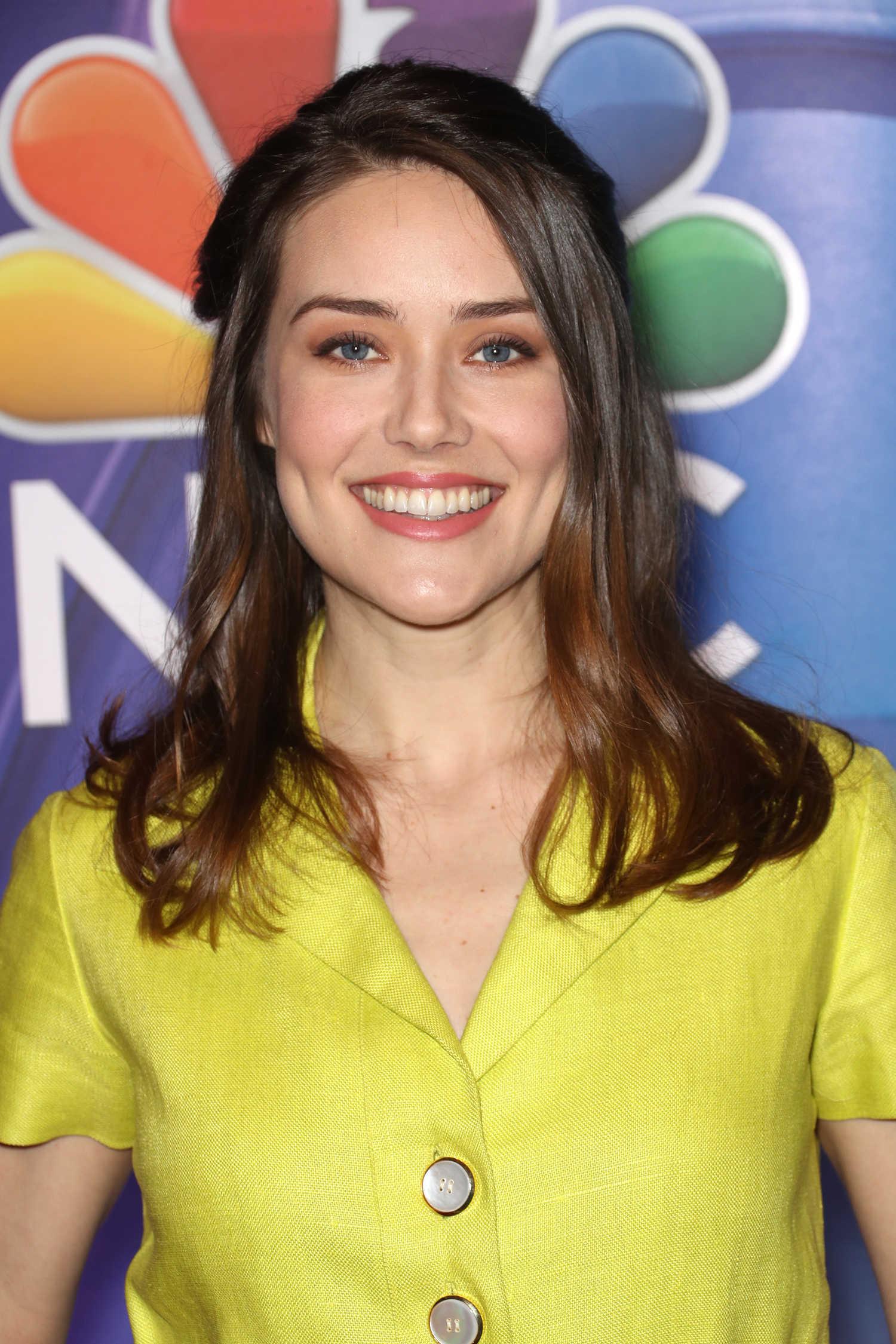 Megan Boone At 2018 Nbc Ny Midseason Press Junket In New
