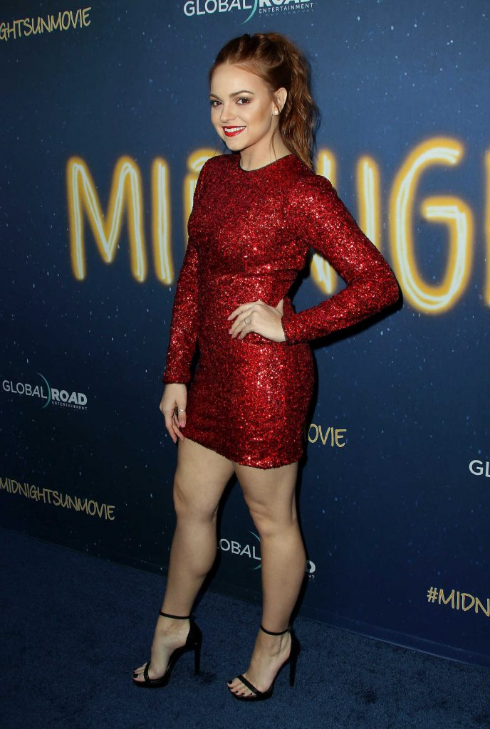 Michelle DeFraites at the Midnight Sun Premiere in Los Angeles-2