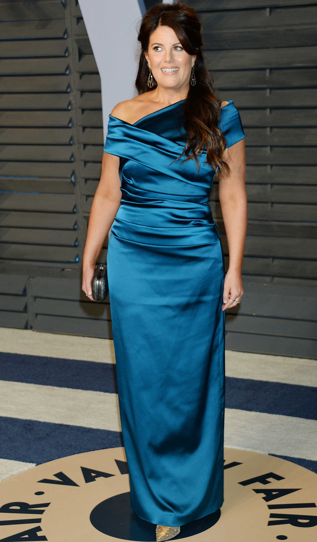 Monica Lewinsky At 2018 Vanity Fair Oscar Party In Beverly