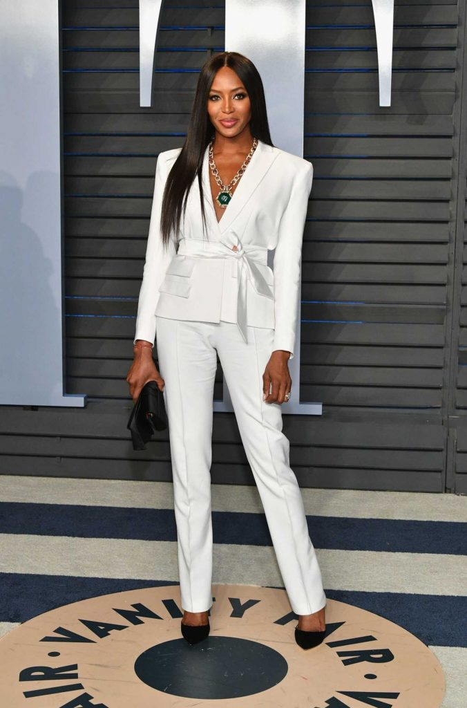 Naomi Campbell at 2018 Vanity Fair Oscar Party in Beverly Hills-1