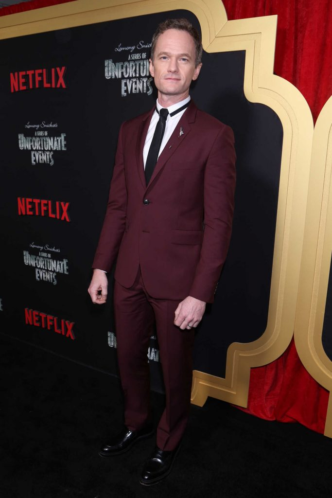Neil patrick harris at a series of unfortunate events tv for Tv shows to see in new york