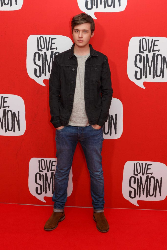 Nick Robinson at the Love, Simon Premiere in Sydney-1