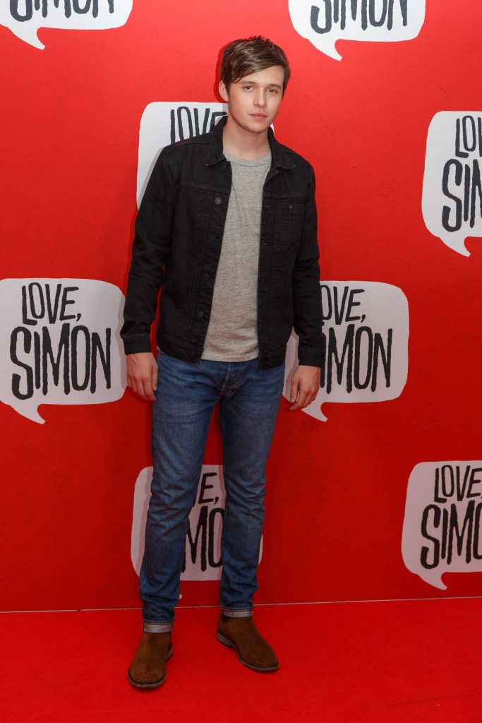 Nick Robinson at the Love, Simon Premiere in Sydney-2