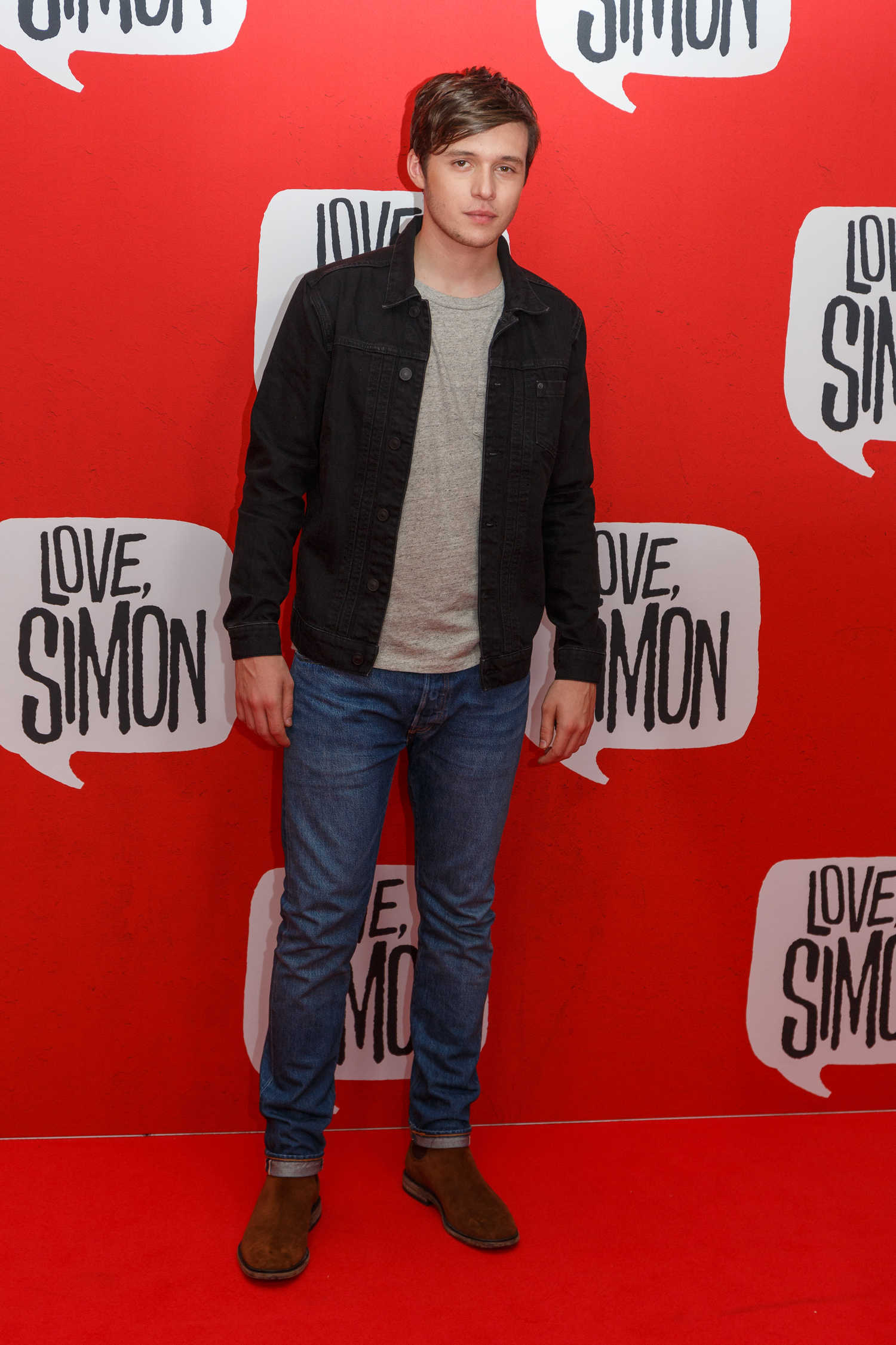 Nick Robinson at the Love, Simon Premiere in Sydney ...