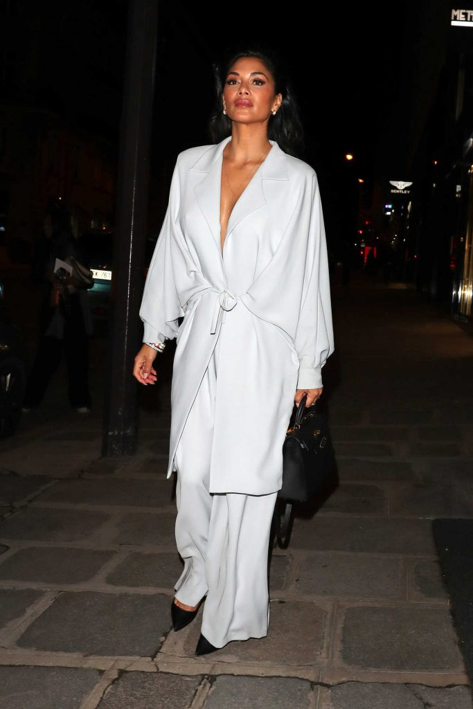 Nicole Scherzinger Night Out in Paris-1