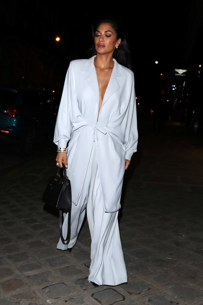 Nicole Scherzinger Night Out in Paris-2