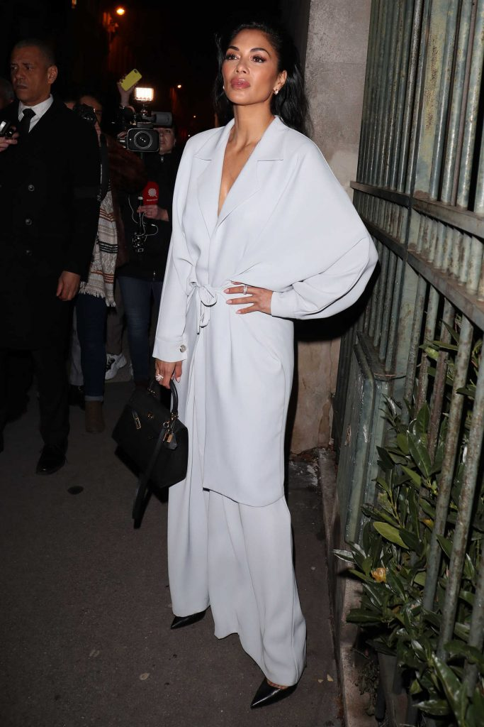 Nicole Scherzinger Night Out in Paris-3
