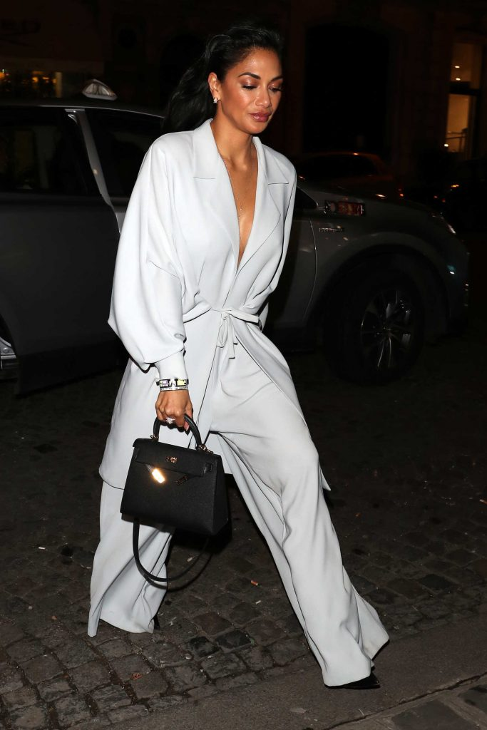 Nicole Scherzinger Night Out in Paris-4
