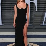 Nina Agdal at 2018 Vanity Fair Oscar Party in Beverly Hills
