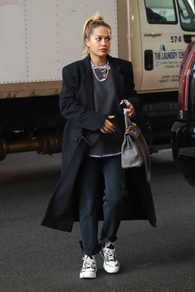 Rita Ora Goes Shopping with Andrew Watt in NYC-1