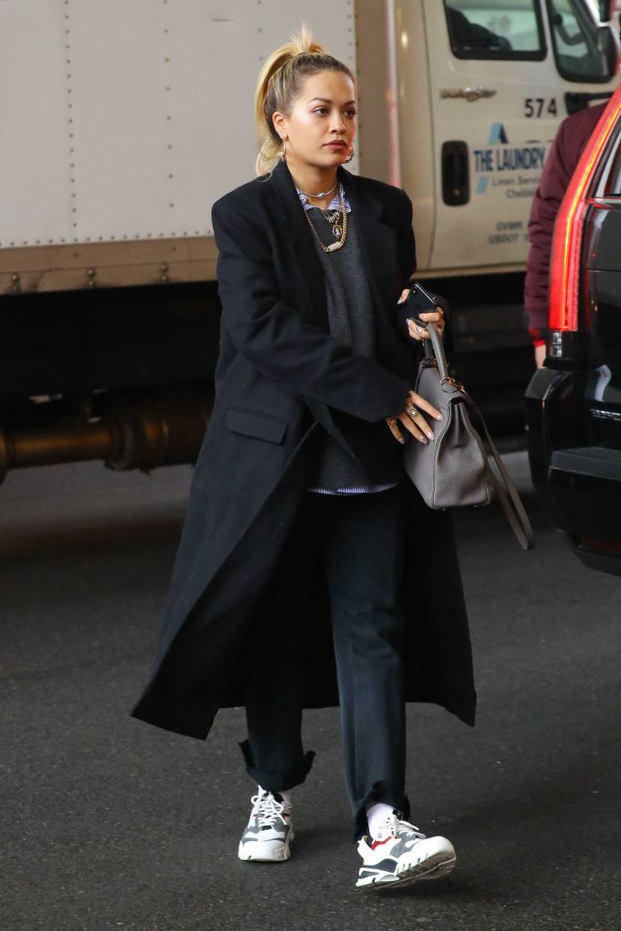 Rita Ora Goes Shopping with Andrew Watt in NYC-2