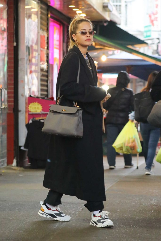 Rita Ora Goes Shopping with Andrew Watt in NYC-4