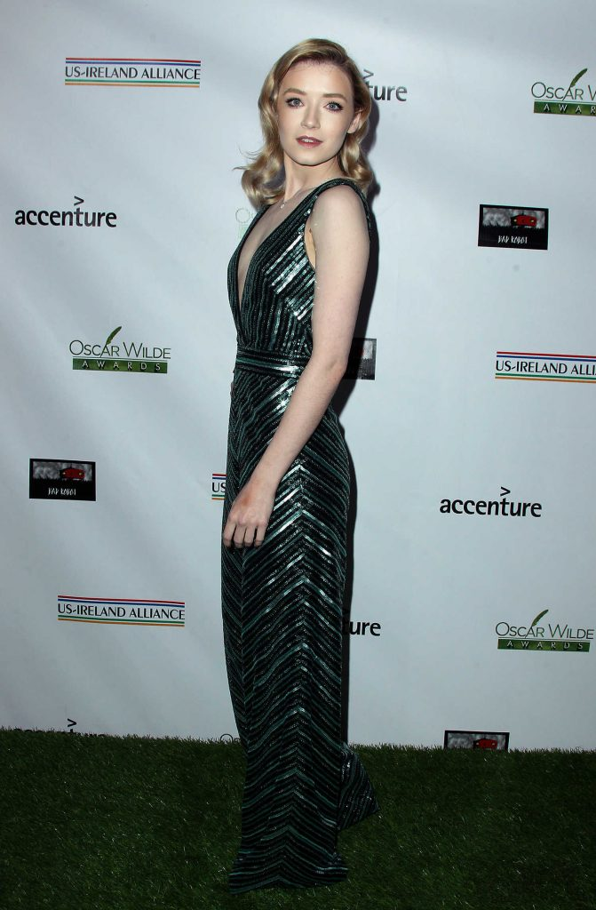 Sarah Bolger at Oscar Wilde Awards in Santa Monica-3
