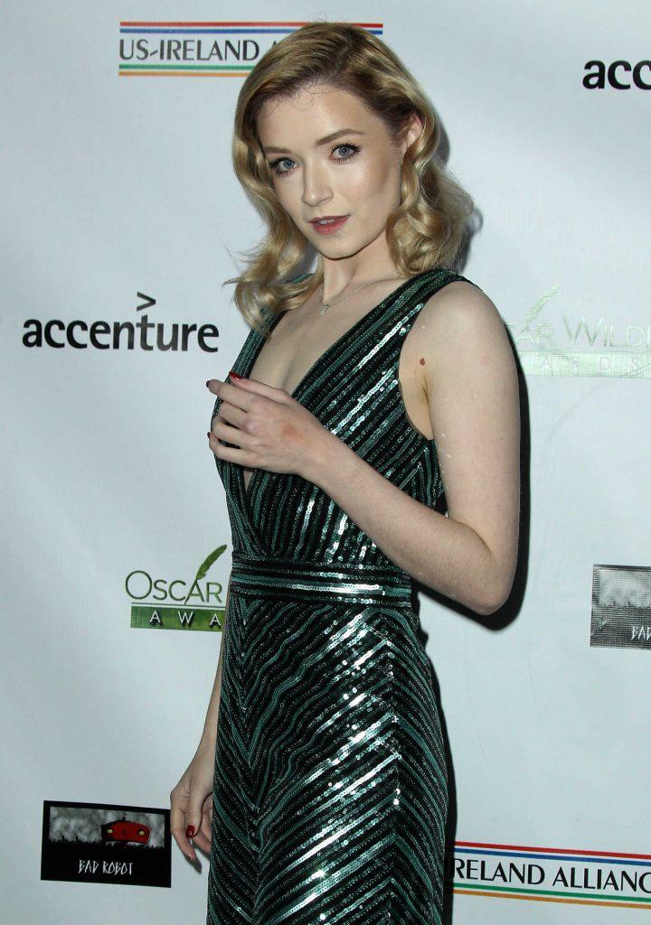 Sarah Bolger at Oscar Wilde Awards in Santa Monica-4