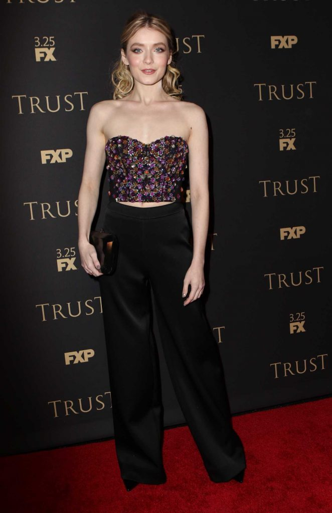 Sarah Bolger Attends FX All-Star Party in New York-2