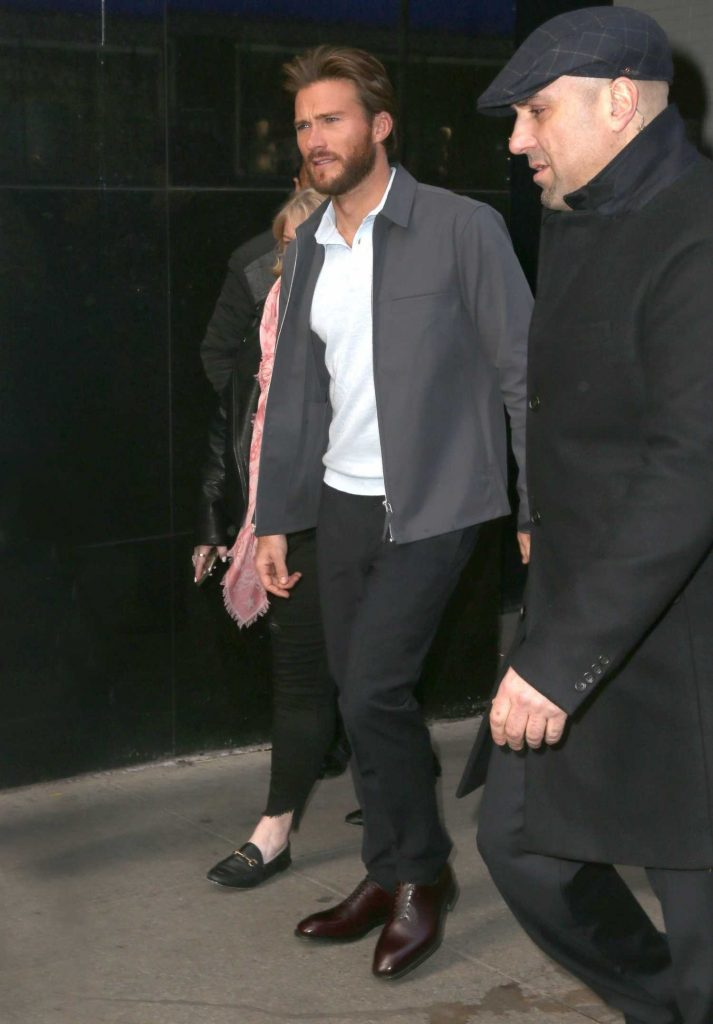 Scott Eastwood Arrives at Good Morning America in Manhattan, NYC-1