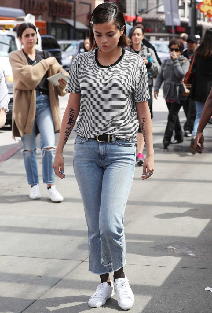 Selena Gomez Arrives at the March for Our Lives in Los Angeles-1