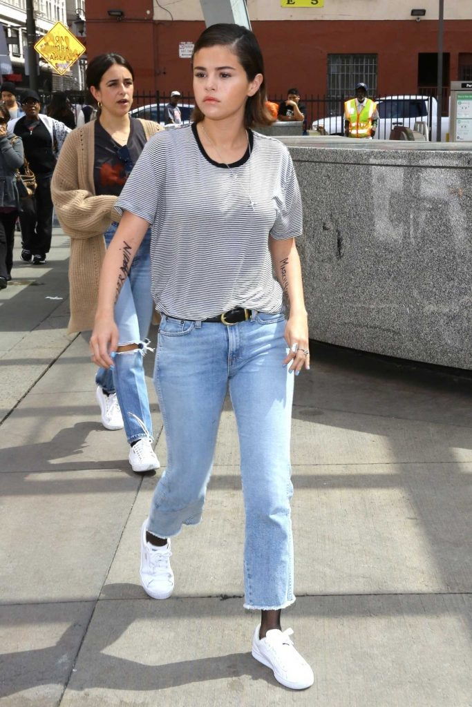 Selena Gomez Arrives at the March for Our Lives in Los Angeles-2