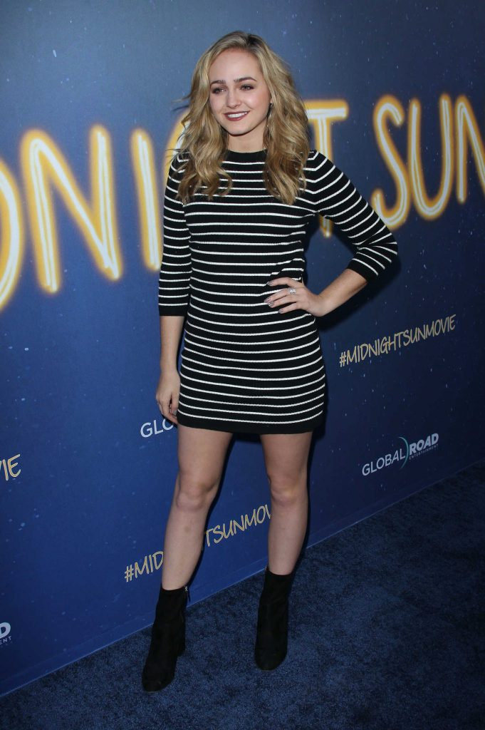 Sophie Reynolds at the Midnight Sun Premiere in Los Angeles-1