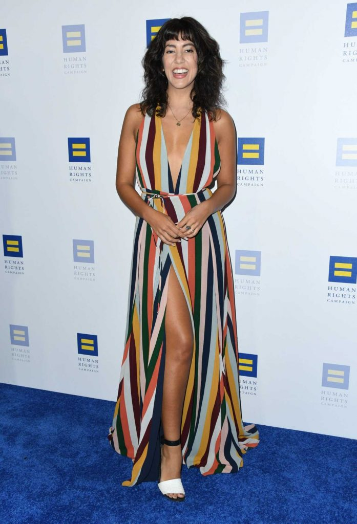 Stephanie Beatriz at 2018 Human Rights Campaign Dinner in Los Angeles-2