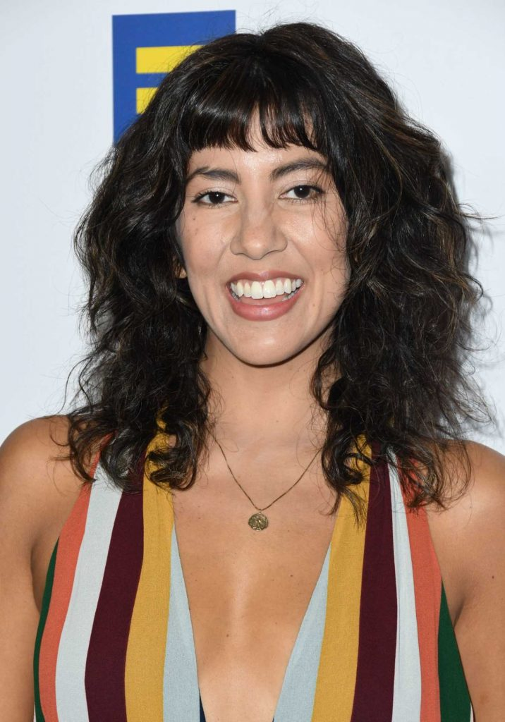 Stephanie Beatriz at 2018 Human Rights Campaign Dinner in Los Angeles-3