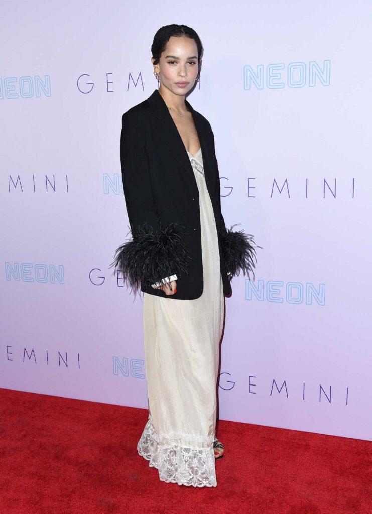 Zoe Kravitz at the Gemini Premiere in Los Angeles-1