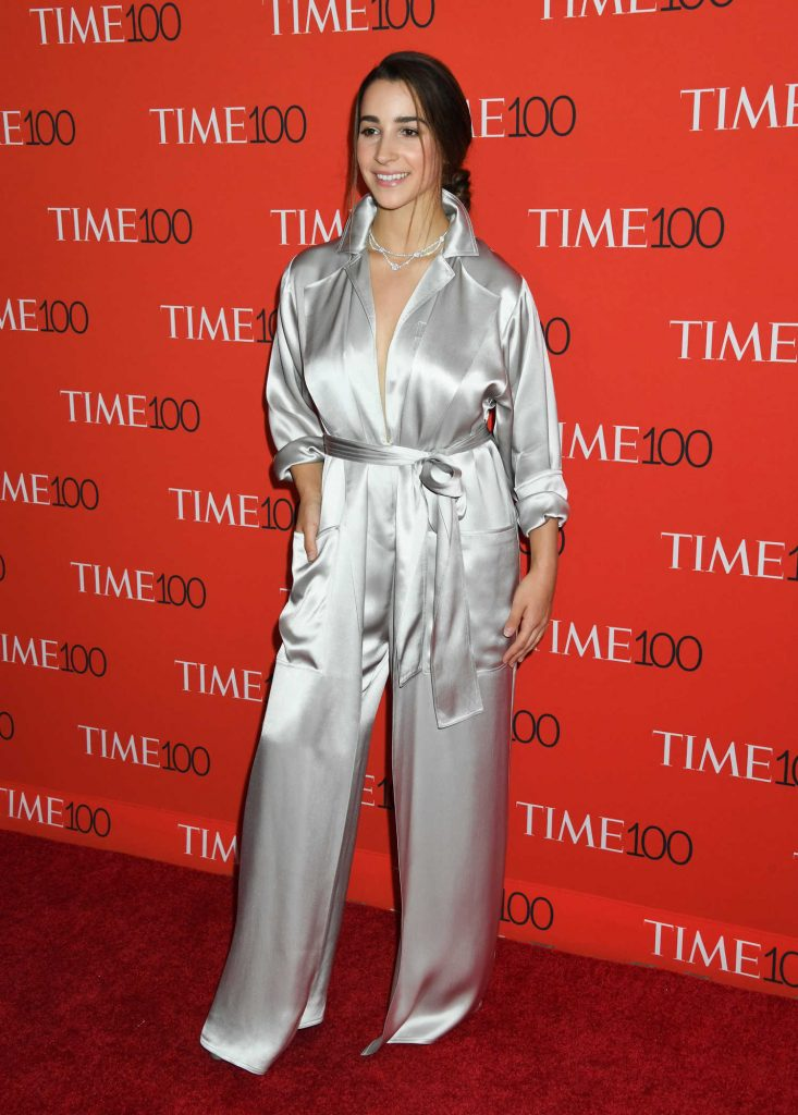 Aly Raisman at 2018 TIME 100 Most Influential People Gala in New York-1