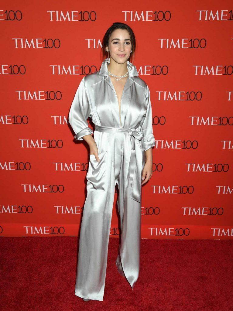Aly Raisman at 2018 TIME 100 Most Influential People Gala in New York-2