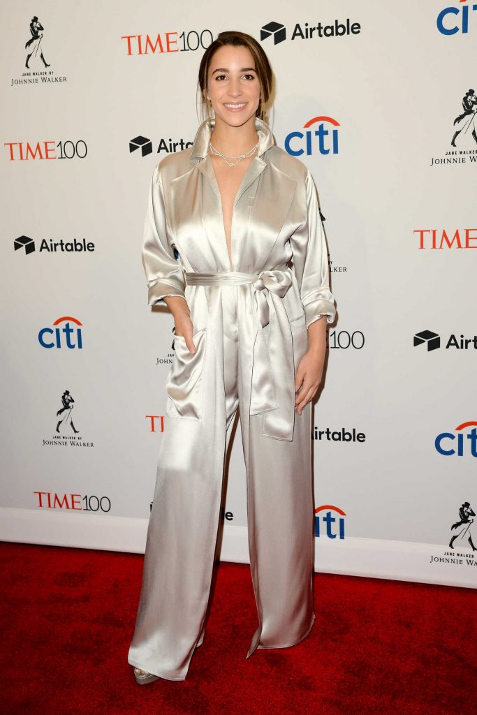 Aly Raisman at 2018 TIME 100 Most Influential People Gala in New York-4